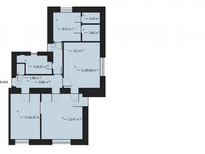 MOBITIM vinde Apartament 100mp in vila, Parcul Central - Cluj-Napoca