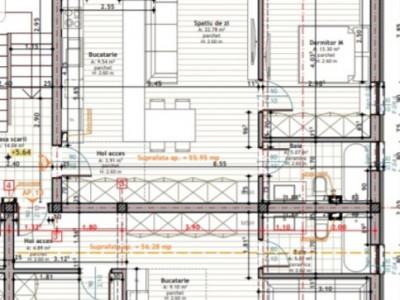 MOBITIM vinde Apartamente 2 camere, constructie noua, Floresti