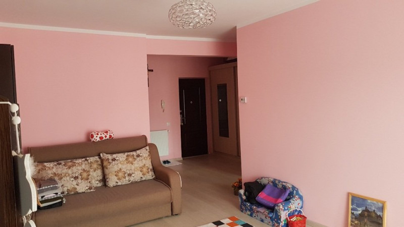 Apartament 1 camera, 44mp, finisat, Floresti