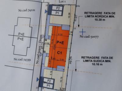 Mobitim vinde teren cu autorizatie de constructie duplex, Floresti