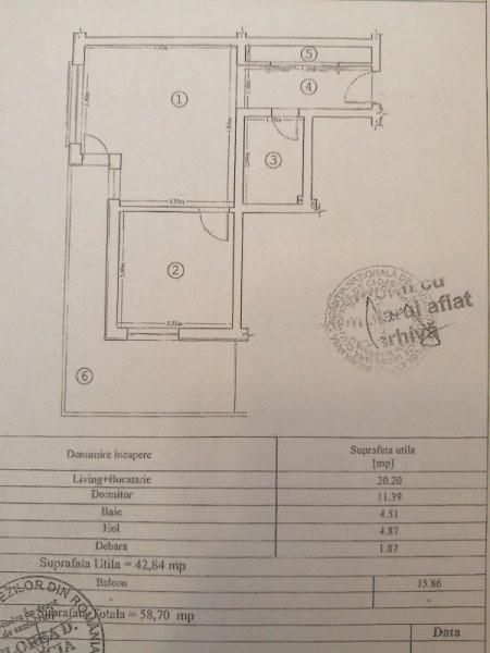 Mobitim vinde apartament 2 camere, in Floresti