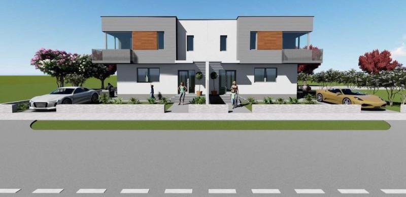 Duplex, constructie noua, semifinisat, zona Cetatii, Floresti