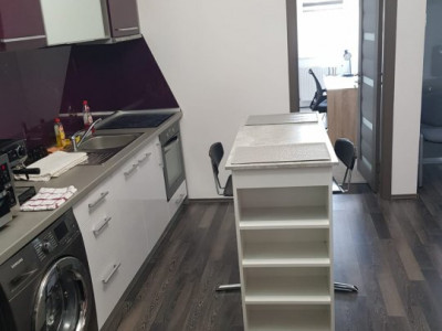 De inchiriat apartament in Plopilor  cu 2 dormitoare +living cu bucartarie